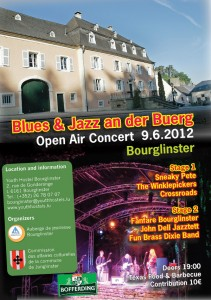 Blues & Jazz an der Buerg 2012